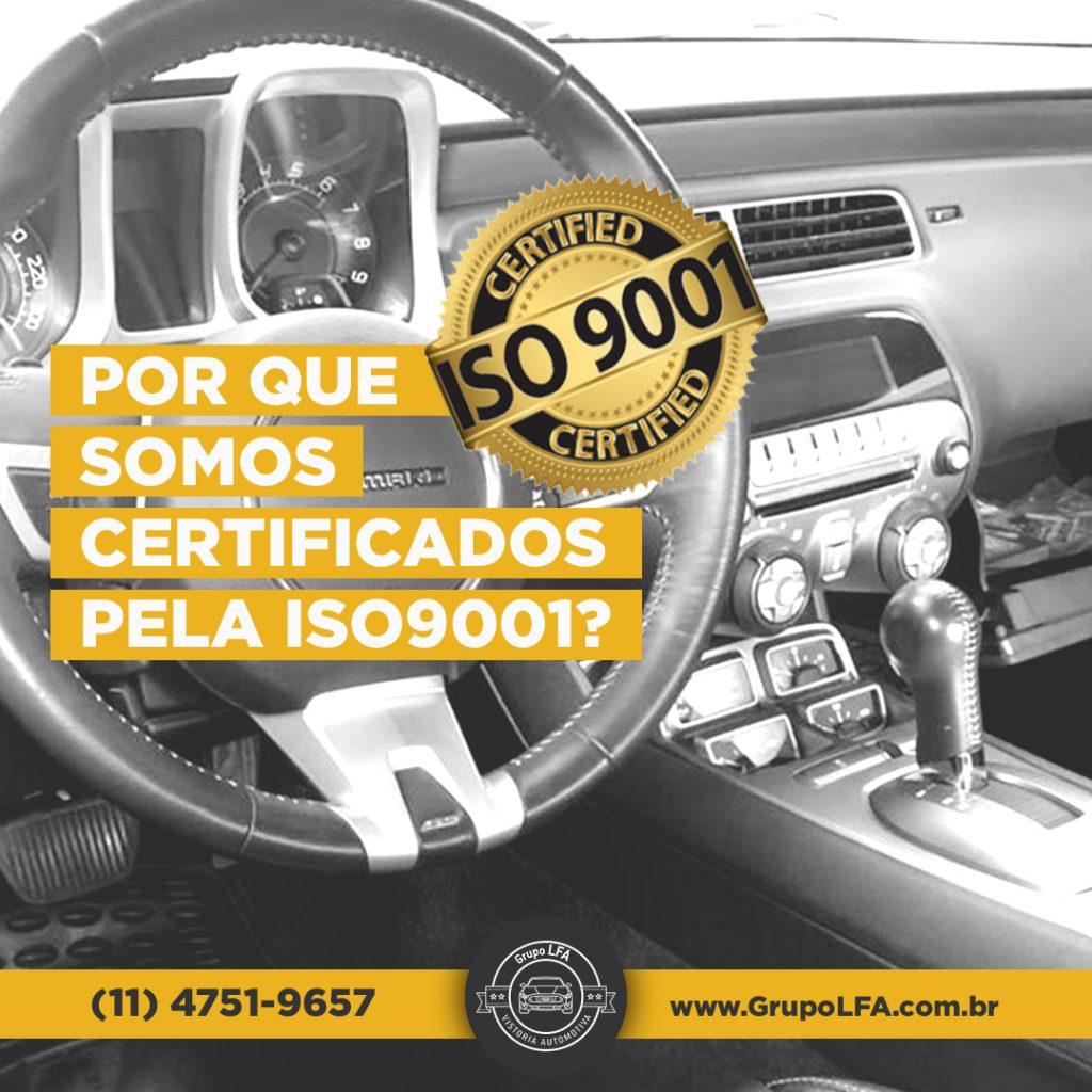 Por Que Somos Certificados Pela Iso9001?
